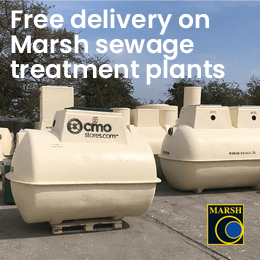 Marsh - Free delivery on sewage treatment plants