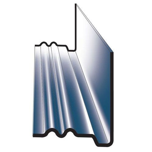 Continuous GRP Dry Soaker For Roofing Slates - Non-Lipped (Pack of 10)