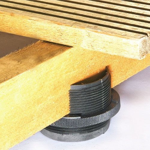 Timber Decking and Flooring Adjustable Cradle - 10mm to 40mm