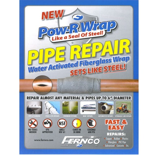Pipe Repair Kit Pow-R-Wrap for Up to 74mm Pipe