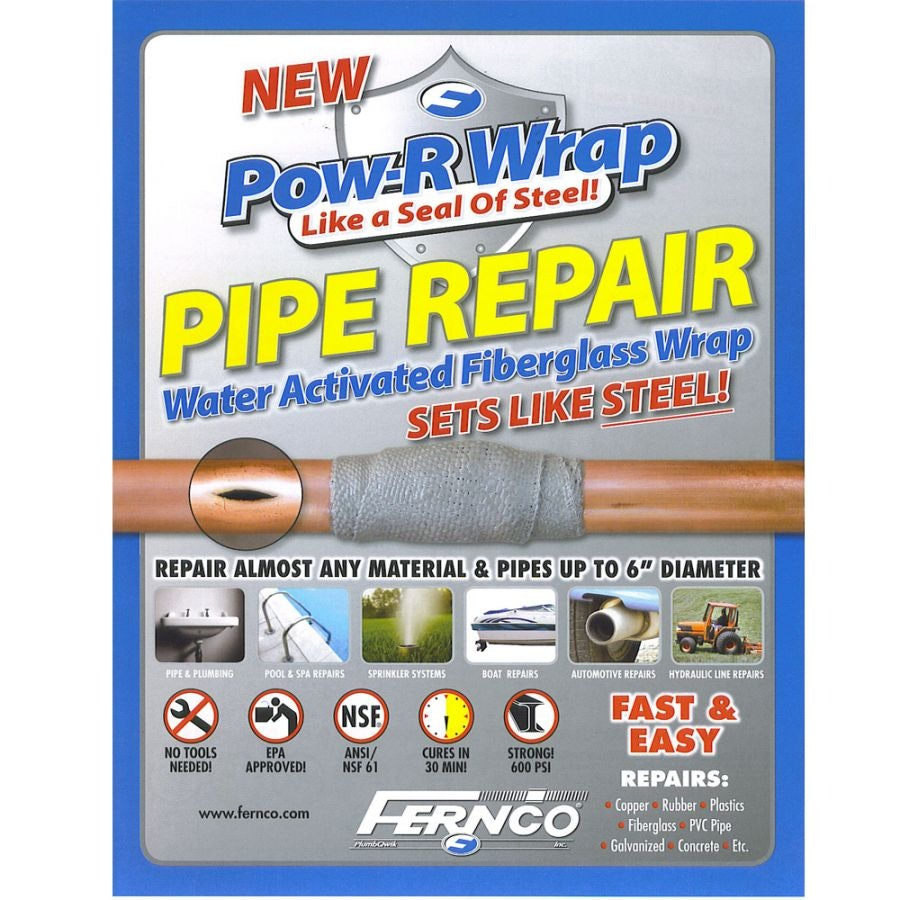 Video of Pipe Repair Kit Pow-R-Wrap for Up to 150mm Pipe