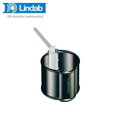 Video of Lindab Round Downpipe Pipe Holder 120mm Painted Black