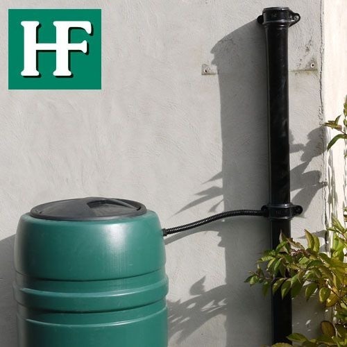 Cast Iron Round Downpipe With Ears 65mm x 1.8m Length - Primed Finish