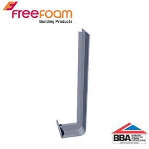 uPVC Fascia Board Joiner (Square Edge) 300mm - Storm Grey