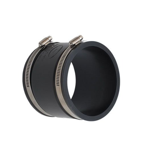 PlumbQwik 100mm PVCu Drain and Sewer Pipe PVC Straight Connector