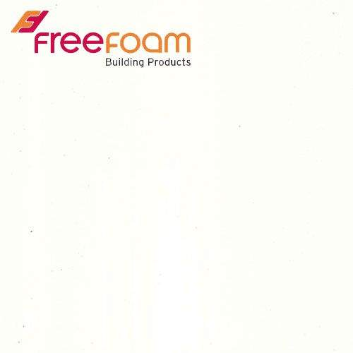Geopanel Wide Bathroom Wall Panel in Plain White - 2400mm x 1000mm