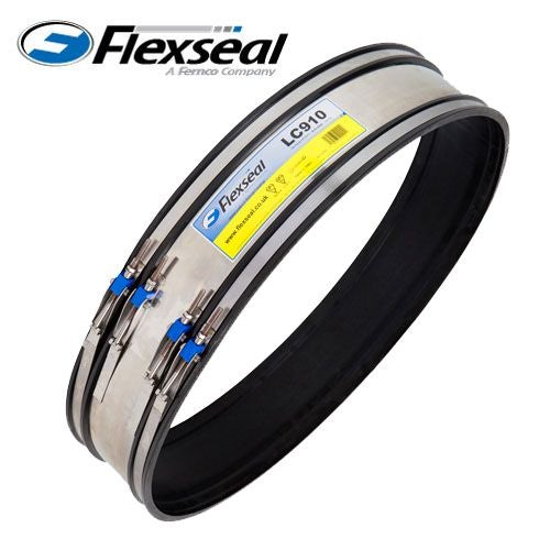 Video of Flexseal 1900mm - 1999mm External Rubber Flexible Drainage Coupling