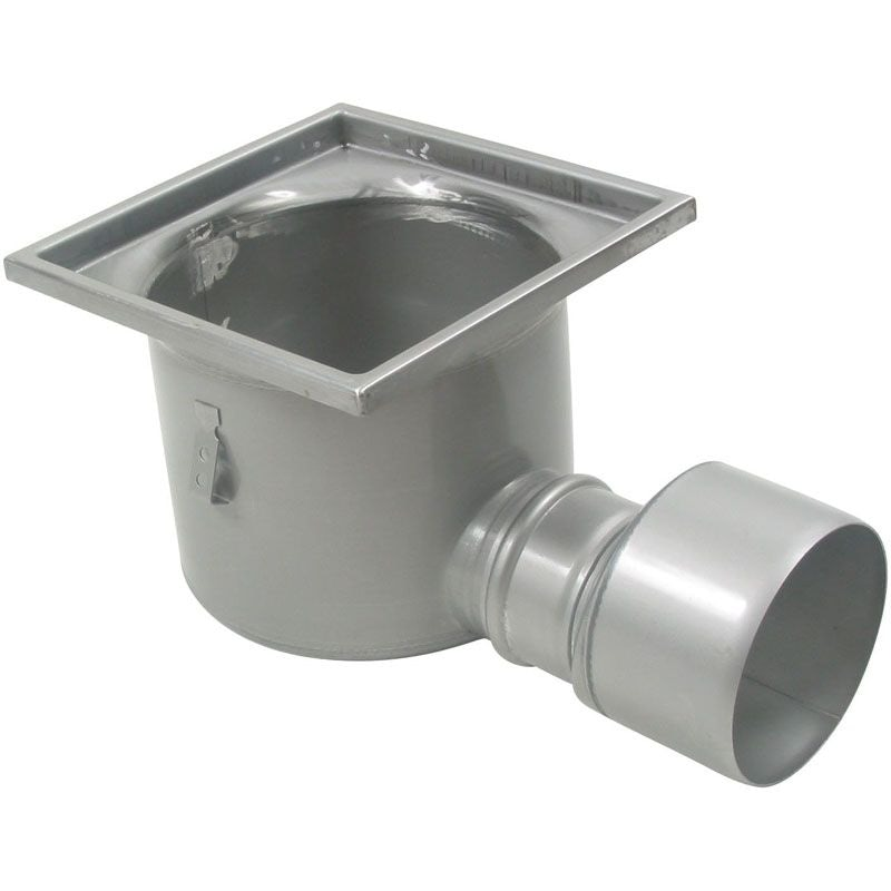Industrial Floor Drain Gully Stainless Steel 300 X 300mm 160mm Drainage Superstore