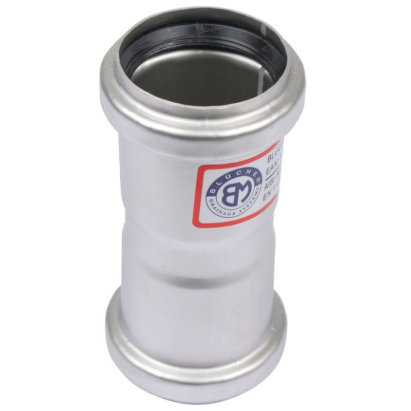 Stainless steel pipe mm double socket grade