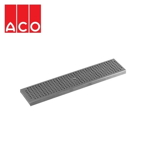 Channel Drain Stainless Steel Quadrato Grate 1000mm - ACO Modular 125