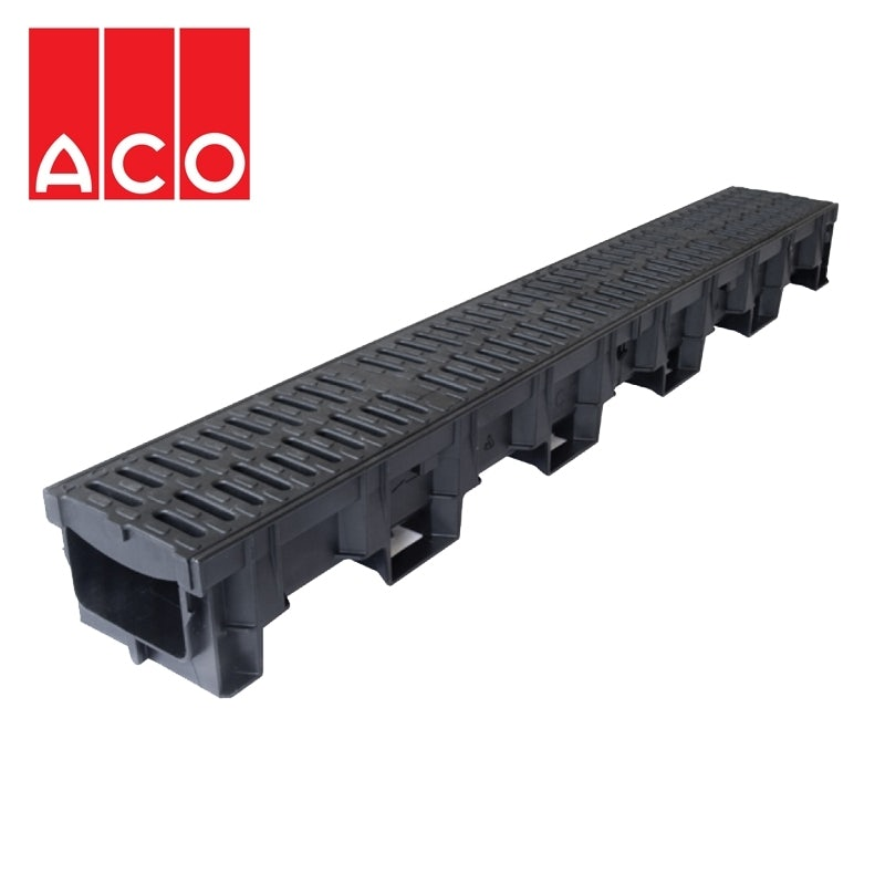 Video of ACO Hexdrain Driveway Channel Drain 138mm x 100mm x 1000mm - B125 Load