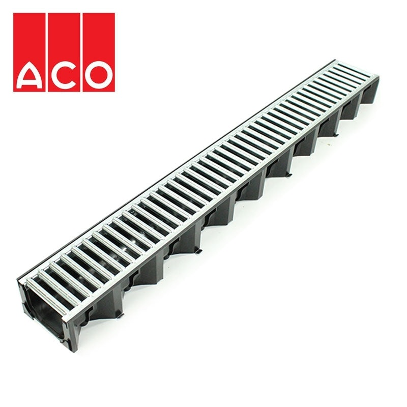 Video of ACO Hexdrain Galvanised Channel Drain - A15 Class