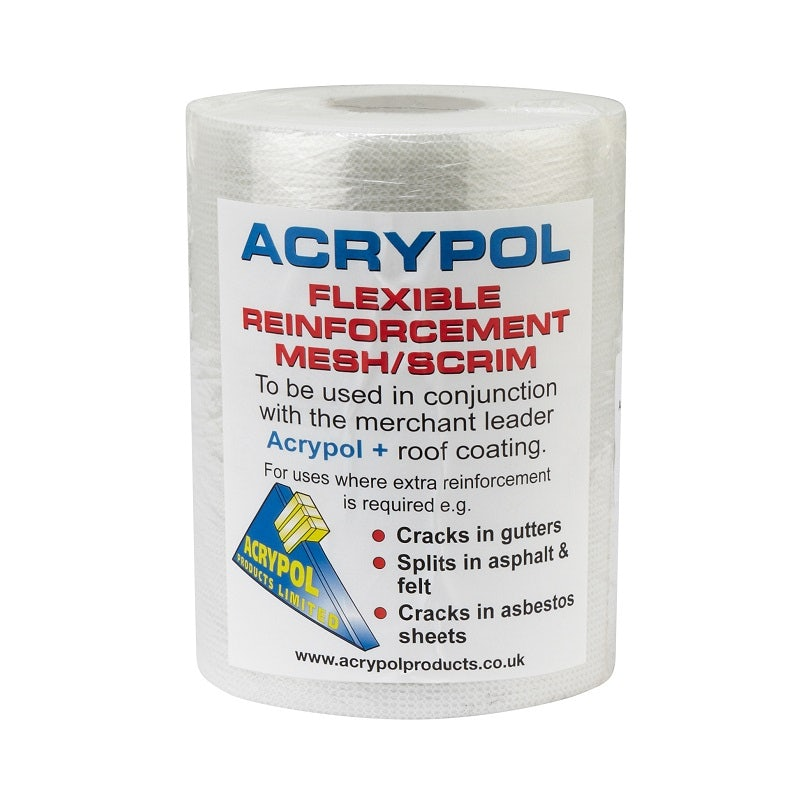 Video of Acrypol Flexible Reinforcement Mesh / Scrim - 1m x 10m Roll (Medium)