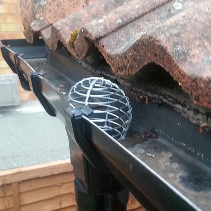 Stainless Steel 150mm Wire Balloon Leaf Guard For Gutters