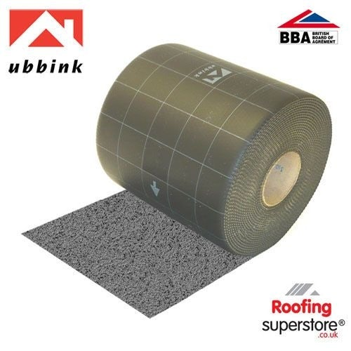 Ubiflex B3 Lead Alternative Flashing 300mm x 12m (3.5mm Thick) - Grey
