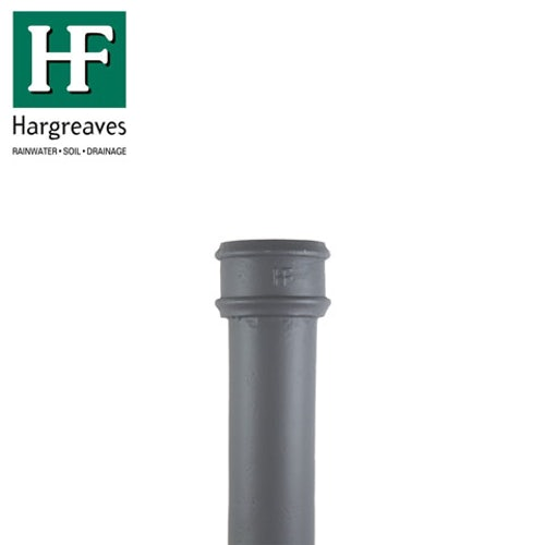 Cast Iron Round Downpipe 75mm x 900mm Length - Primed Finish