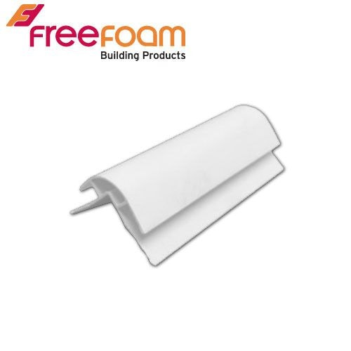 Freefoam Geopanel Ceiling & Wall External Corner - White