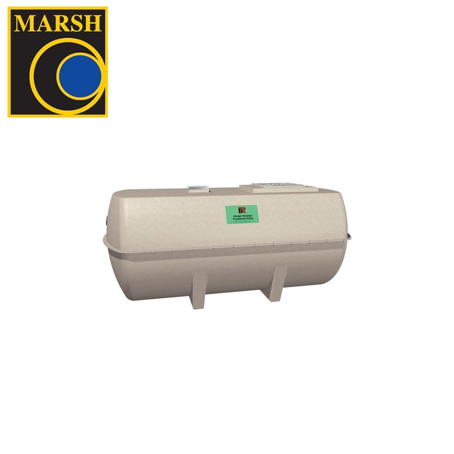 Video of Marsh Ensign Low Profile Sewage Treatment Plant - 8 Person Tank