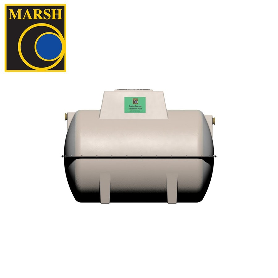 Video of Marsh Ensign Sewage Treatment Plant with Pump - 6 Person Tank