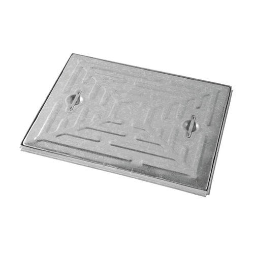 Single Seal Steel Manhole Cover