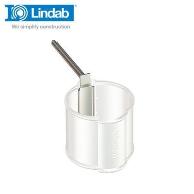 Video of Lindab Round Spike for Pipe Holder 125mm Galvanised