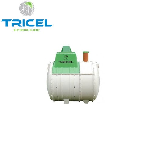 Video of Tricel Novo 6UK Sewage Treatment Plant Gravity Outlet and Alarm