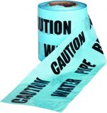 Underground Caution Warning Tape Blue Water Mains - 150mm x 365m
