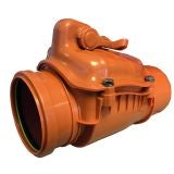Underground Drain Sewer Pipe Non Return Valve Dek Drain - 160mm
