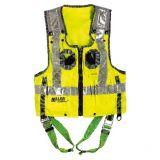 Miller DuraFlex High Visibility Vest Safety Harness (Size M/L)