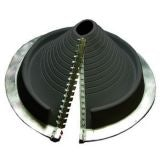 Pipe Flashing for Metal Roofs 85-255mm Dektite Retrofit Black EPDM