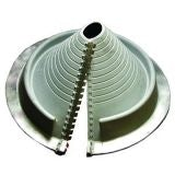 Pipe Flashing for Metal Roofs 20-70mm Dektite Retrofit Grey EPDM