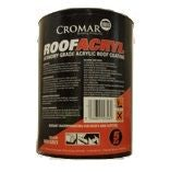 Cromar Roofacryl Acrylic Roof Coating - 5kg Grey