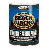 Everbuild 902 Black Jack Bitumen & Flashing Primer - 5 Litres