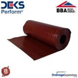 Deks Perform Flexible Lead Alternative - 1250mm x 4m Roll (Terracotta)