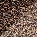Pea Gravel Shingle 10mm Aggregate 1 Tonne Dumpy Bag