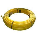 Gas Pipe MDPE Coil 25mm x 100m - Yellow