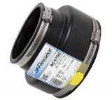 Flexseal 136mm to 80mm Rubber Flexible Drainage Adaptor Coupling