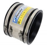 Flexseal 485mm to 510mm Rubber Flexible Drainage Adaptor Coupling