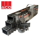 ACO Hexdrain Channel Drainage with Plastic Grate Garage Pack - 3m