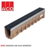 ACO MultiDrain M100D Sloped - 135mm x 175/180mm x 1000mm