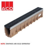 ACO MultiDrain M100D Sloped - 135mm x 245/250mm x 1000mm