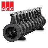 ACO Qmax 150 Slot Channel with Q-Flow Steel Edge Rail 2m