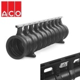 ACO Qmax 350 Slot Channel with Q-Flow Iron Edge Rail 2m