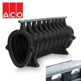 ACO Qmax 550 Slot Channel with Q-Slot Steel Edge Rail 2m