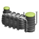 BIOROCK MONOBLOCK-3-900 Sewage Treatment Plant Gravity Outlet - 6 Person