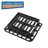 Clark Drain D400 Class Cast Iron Hinged Gully Grid Cover 430 x 370 x 100mm
