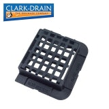 Clark Drain C250 Cast Iron Hinged Kerbside Gully Grid Cover 336 x 308 x 100mm