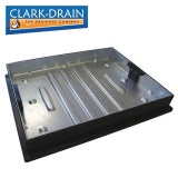 Clark Drain CD 790R/80 10 Tonne GPW Recessed Manhole Cover and Frame 600 x 450 x 80mm