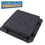 Clark Drain E600 Class Cast Iron Manhole Cover and Frame 675 x 675 x 150mm