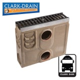 Channel Drain Silt Box & Iron Grate 500L x 134W x 454H - D400 Class
